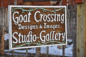 Goat Crossing Designs & Images Studio Gallery
