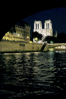 Notre Dame From Under Pont St Michel